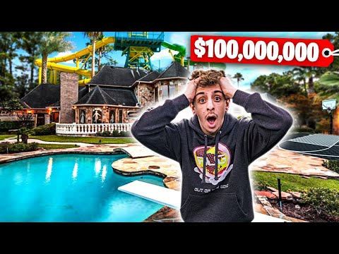 I Went to the MOST EXPENSIVE HOUSE in the WORLD!! **backyard waterpark**