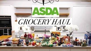 Asda Grocery Haul // Food Shop Under £100