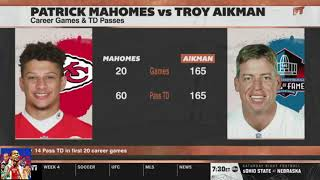 First Take 9/24/19 - Aikman 'talk to me' when Mahomes has 33% of my titles