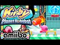 Kirby Planet Robobot 3DS Gameplay Walkthrough PART 2 Smash Bros amiibo Secret Rooms Nintendo HD