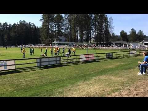 Årets första mål för Mallbacken på Strandvallen 2014 thumbnail