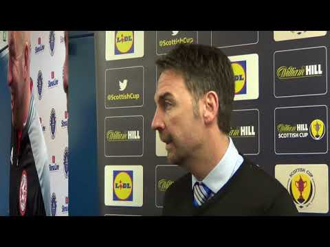 William Hill Scottish Cup:Stranraer FC & Brora Rangers Manager interviews 18/11/17