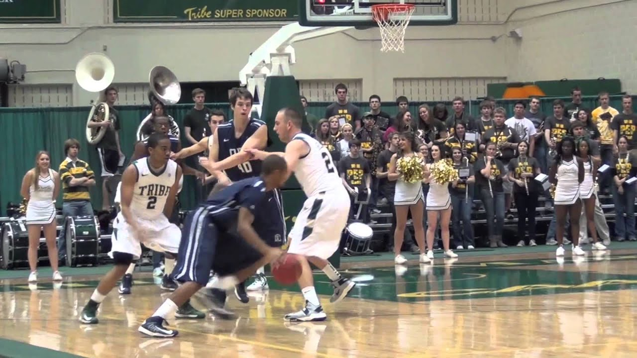 Tribe Men's Basketball Game Highlights vs. Old Dominion ...