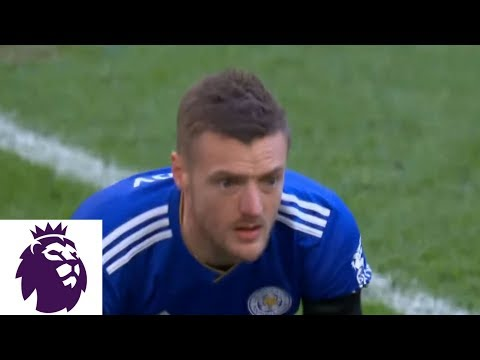 Jamie gets subbed in, immediately misses PK for Leicester v. Tottenham | Premier League | NBC Sports