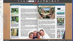 Create 3D flip books for the web from PDF files