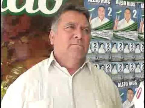 De nuevo confirman precandidatura de Alejo Rios para Gobernador