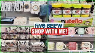 FIVE BELOW HOME DECOR SHOP WITH ME 2021 NEW FINDS!