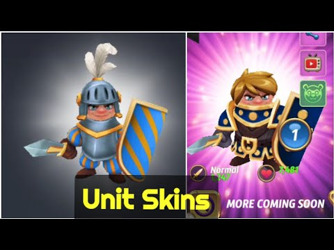 Royal Revolt 2 - Knight Skin ( Birthday Event )