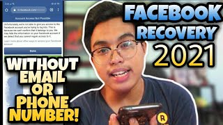 How to Recover Facębook Account WITHOUT Email or Phone Number l 100% LEGIT! FB HACKED RECOVERY 2021