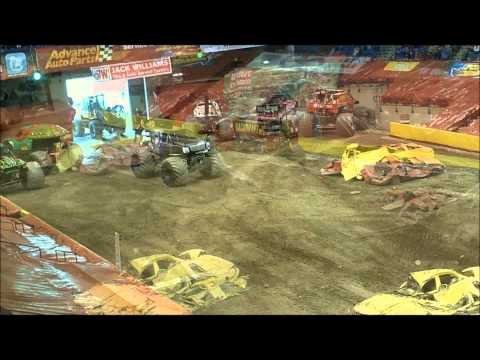 Monster Jam 2012 Mohegan Sun Arena