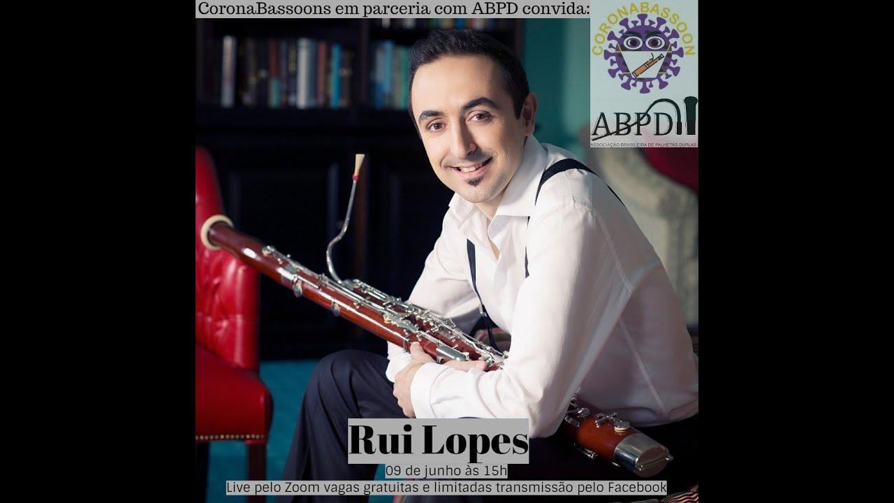 Live com o professor Rui Lopes