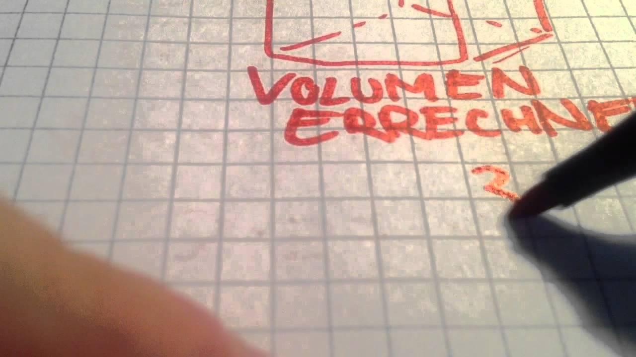 Volumen eines Würfels berechnen - Übung Mathematik - YouTube