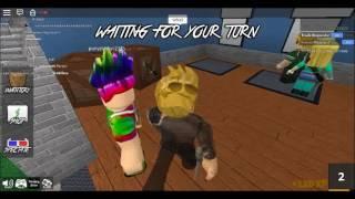 roblox: bug no Murder Mystery 2(oia o Murder)#1