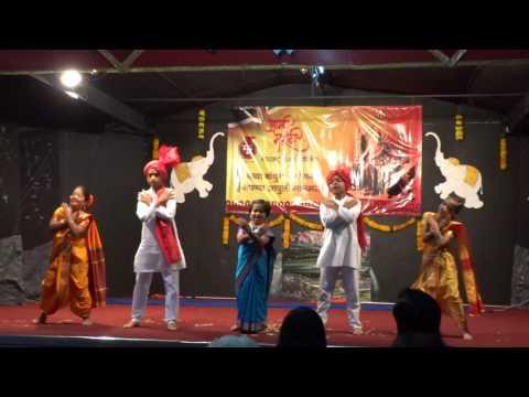 Maharashtra divas kids dance