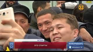 Команда КВН «Спарта-Астана» завоевала кубок Высшей Лиги