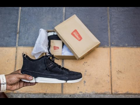 clarks-originals-trigenic-flex---unboxing-and-on-feet-review