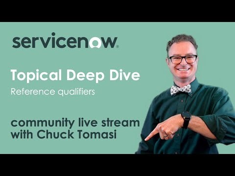 NOWCommunity Live Stream - Topical Deep Dive  - Reference Qualifiers