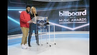 Bebe Rexha & Khalid announcing the nominees for BBMA's (Billboard Music Awards 2018)