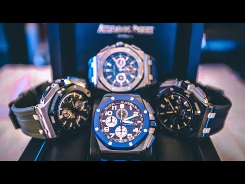 Audemars Piguet Royal Oak watch collection | New Offshore!