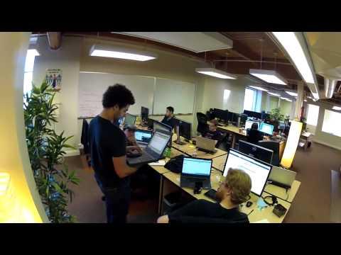 David Baszucki gives us a tour of ROBLOX HQ