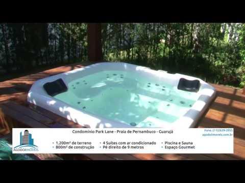 Youtube AGodoi Imóveis Capa: Praia de Pernambuco Condomínio Park Lane Guarujá Linda Casa de 800m²