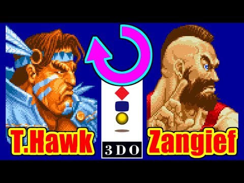 回転系(T.Hawk,Zangief) - SUPER STREET FIGHTER II X / Turbo for 3DO