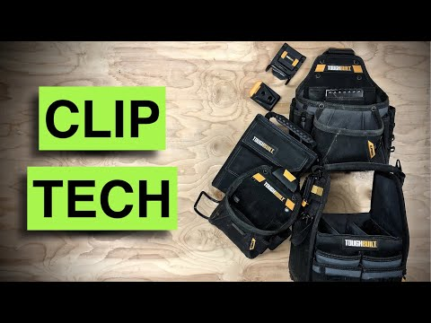 ToughBuilt pouches for every trade - Clip Tech TOOL BELT SYSTEM review