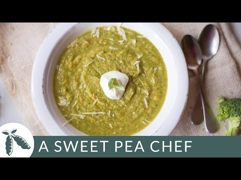 Easy Cream Of Broccoli Soup | A Sweet Pea Chef