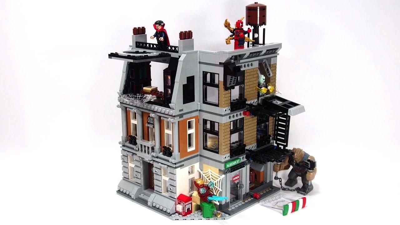 Lego Avengers Infinity War Sanctum Sanctorum Showdown Stop ...