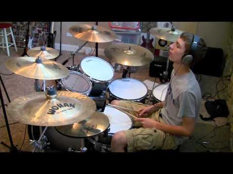 Sweet - Ballroom Blitz drum cover redone (studio quality)