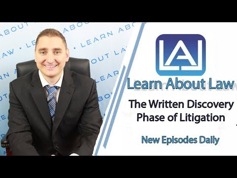 The Written Discovery Phase of Litigation Explained   Illinois Civil Litigation