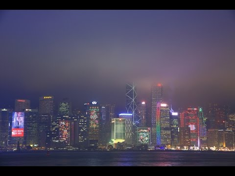 【4K】Hong Kong Night Scene 2016[1]-A Symphony of Lights-