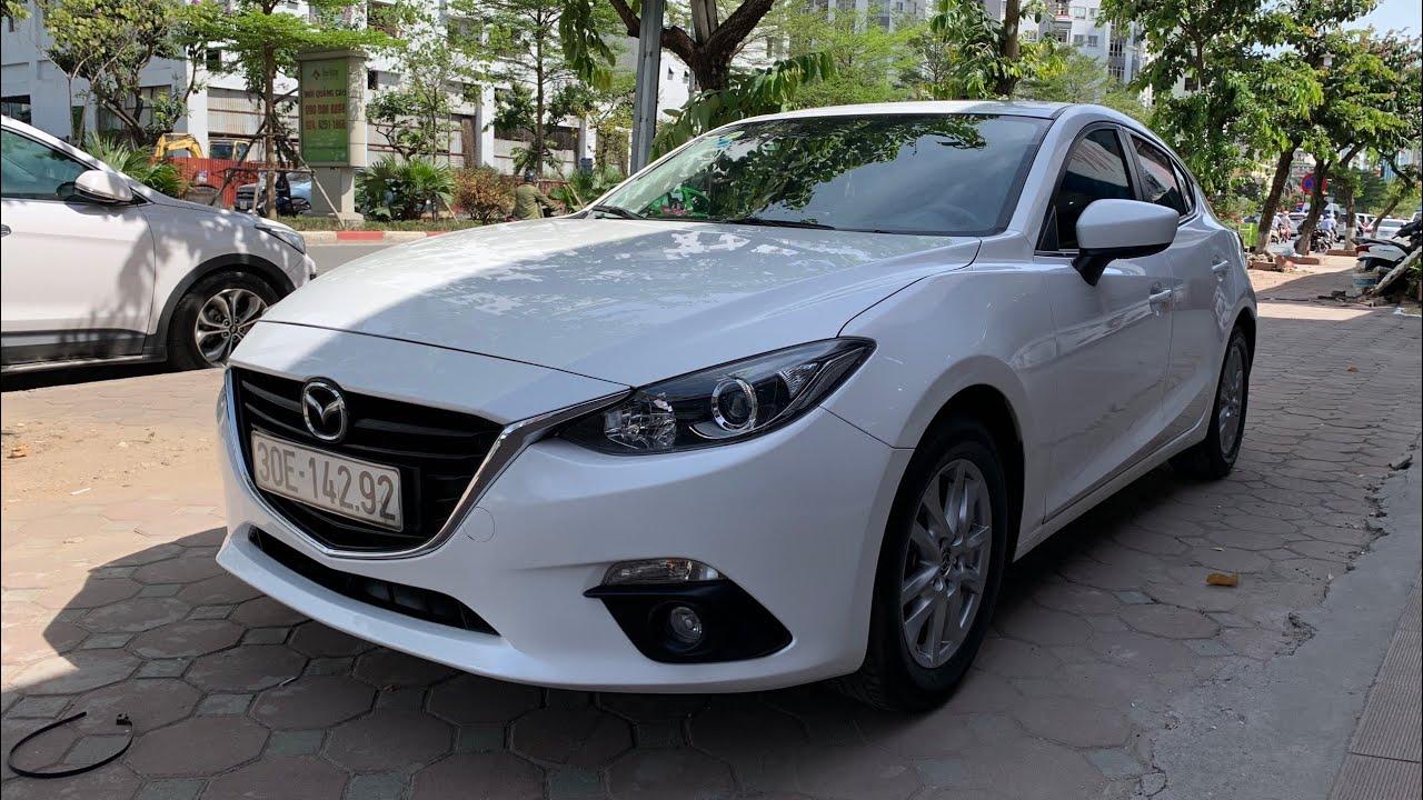 Xe Đẹp Mazda 3 Hatchback 1.5AT 2015 Trắng Giá Tốt | Mr Cảnh 0849544444