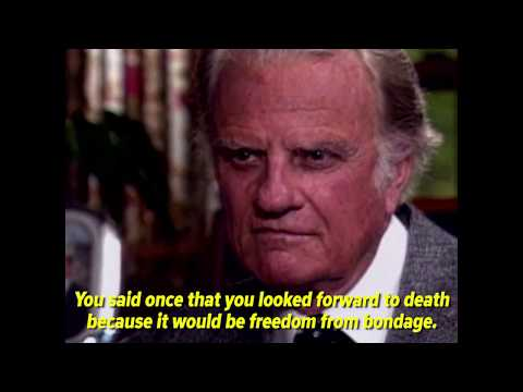 Billy Graham 1992 interview with Diane Sawyer | ABC News