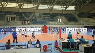 Vakifbank - İlbank Genc Kizlar Turkiye şampiyonası Final Grubu Maçı 1.Set