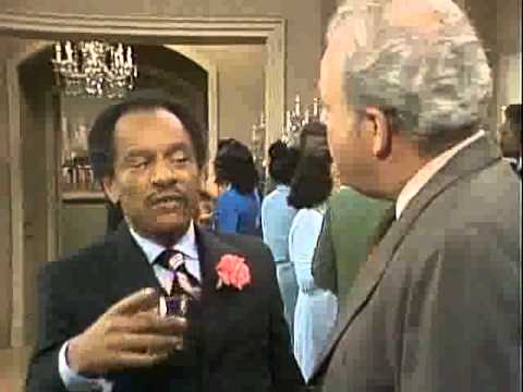 Classic George Jefferson And Archie Bunker Rip Sherman Hemsley