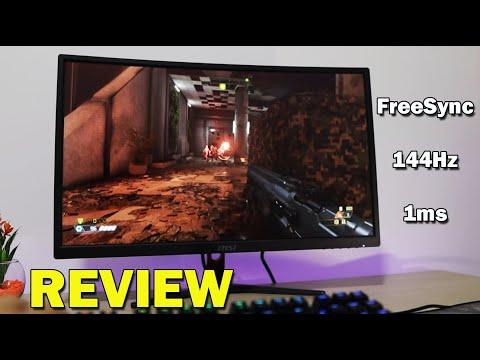 MSI OPTIX G24C 144Hz Review 🕹 Monitor Gaming Precio / Calidad