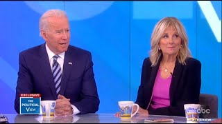 Joe Biden: 'Presidents can't hold grudges, you gotta heal' | The View