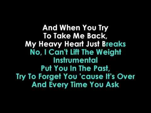 Shawn Mendes The Weight karaoke no vocals
