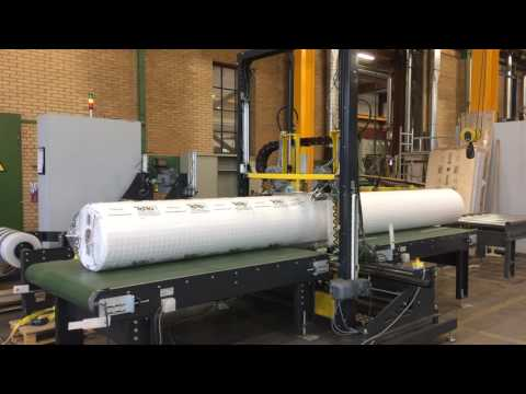 40 Seconds to Pack a Geotextile or Geomembrane Roll