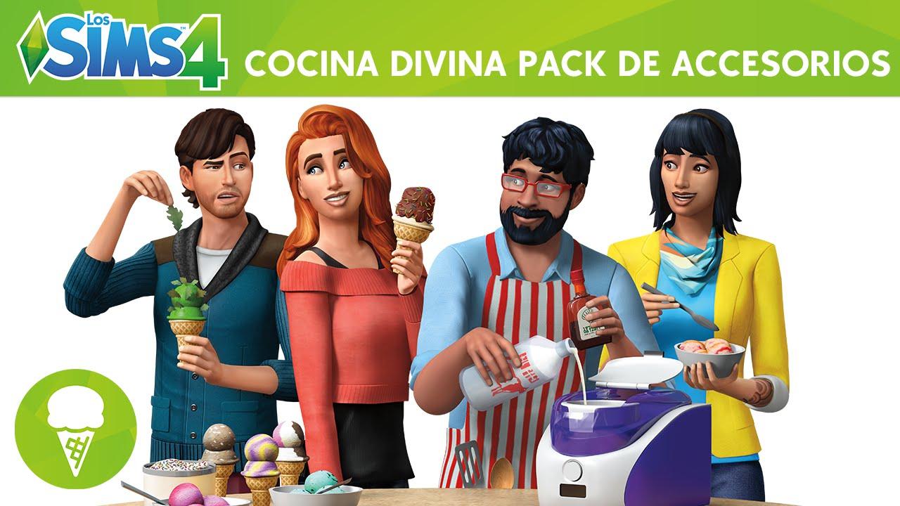 los sims 4 cocina divina pack de accesorios triler oficial youtube - Cocina Divina