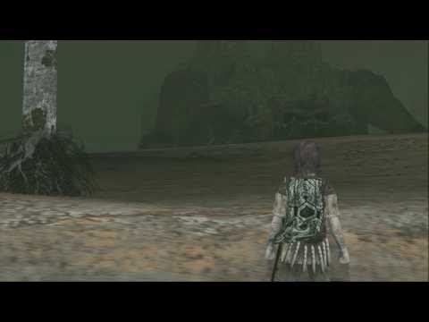 9th colossus - Shadow of the Colossus in HD 1080p with pcsx2 + cutscene after