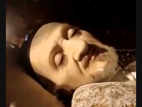 The incorrupt body of St  Vincent de Paul