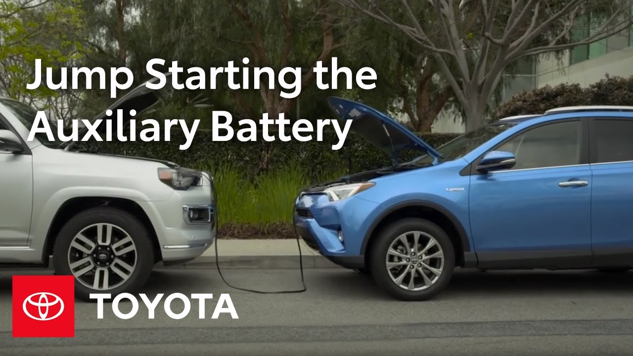 Toyota How To Rav4 Hybrid Auxiliary Battery Location And Jump Yares Terminal Fuse Starting