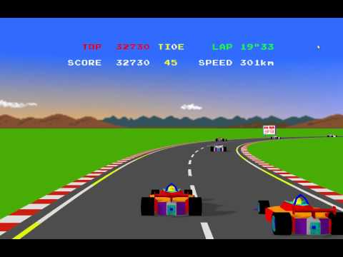 """Project """"ppengine"""" - a modern HD remake of the Pole Position arcade game by Atari/Namco"""