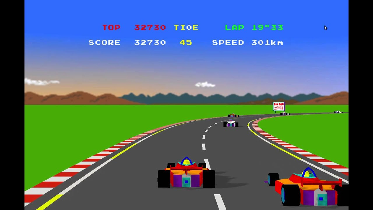 Game The Car Race