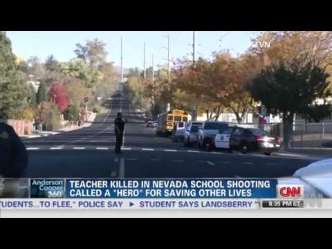 Sparks Middle School shooting, teacher and kid shot in Nevada school shooting