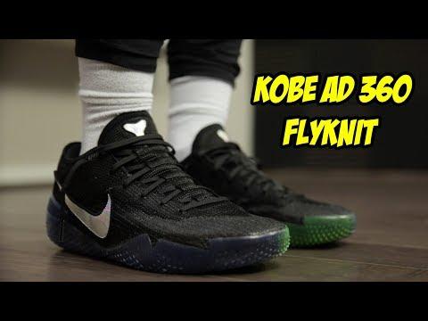 best website 30344 18128 NEW NIKE KOBE AD NXT 360 FLYKNIT! BEST BASKETBALL SHOE EVER? - YouTube
