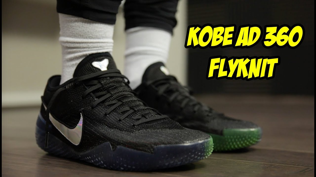ab2828a8fac NEW NIKE KOBE AD NXT 360 FLYKNIT! BEST BASKETBALL SHOE EVER  - YouTube