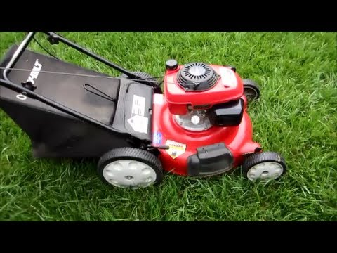 Troy Bilt Lawn Mower Tb542 Honda Gcv160 Engine Final Look Startup Part Ii May 14 2017